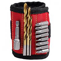 Магнитный браслет Magnetic Wristband для инструментов со встроенными суперсильными магнитами