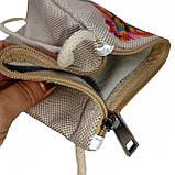 Текстильный кошелек Голубиная пара, фото 4