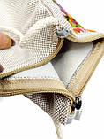 Текстильный кошелек Голубиная пара, фото 3
