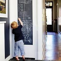 Самоклеюча плівка для малювання крейдою Black Board Sticker, дошка для малювання мольберт для малювання