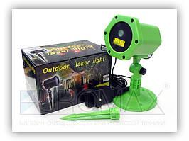 Вуличний лазерний проектор на фасад Scopolia пластиковий, зелений, laser, лазерний проектор