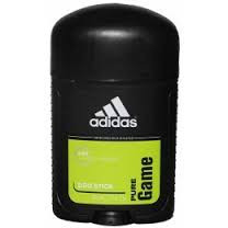 Tвердый мужской дезодорант антиперспирант Adidas Pure Game 53 мл. (Адидас Пюр Гейм)