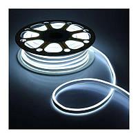 Гибкая неоновая подсветка белая Neon DC катушка 5м, 12V, -25°С/+40°С, IP68, Ledнеон, неоновая подсветка белая