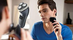 Профессиональная электробритва для удаления волос Rozia HT 907 от аккумулятора, 3-12 мм, лезвия сталь, бритва
