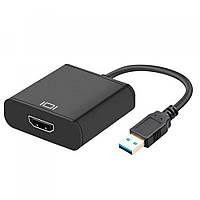 Конвертер для перетворення сигналу USB 3.0 to HDMI Full HD, роздільна здатність 1920x1080, адаптер,