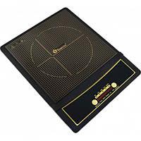 Індукційна електроплитка Domotec MS 5832 на 1 комфорки, індукційна, 2000Вт, сенсорний, настільна плита,