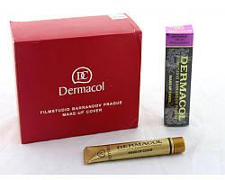 Тональный крем Dermacol 211, в упаковке 12 шт., тоналка, тональник, тональная основа