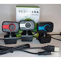 Веб - камера з мікрофоном WebCam mini-01 4800PC, шумозаглушення, 640x480, USB, різні кольори, вебкамери WebCam