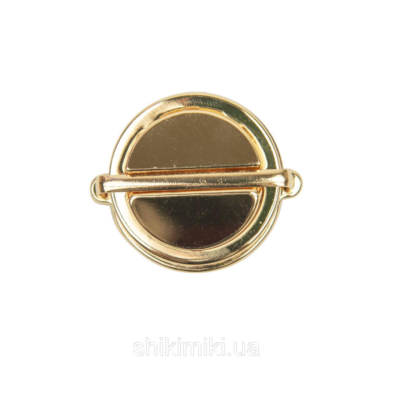 Замок для сумки ZM312-3 (46*38 мм), колір золото