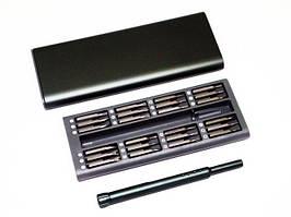 Набір прецизійних викруток HandsKit 48бит, в футлярі, алюміній, викрутки, набір викруток
