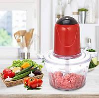 Измельчитель овощей / фруктов и мяса Food Processor A-04 объем 2л, 250Вт, от сети, нержавеющая сталь, блендер