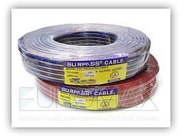 Акустичний кабель для передачі аудіосигналу ACOUSTIC-WIRE-500 500мкм, 91,5 м, кабель аудіо, акустичний