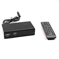 Тюнер DVB-T2 0968 METAL с поддержкой wifi адаптера, с экраном, Full HD/USB/HDMI, тюнеры