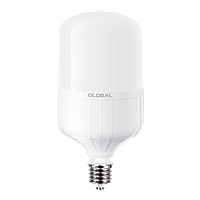 Светодиодная лампа Global E27- 50w, 6500k, 4300Lm, цилиндрическая, матовая, энергосберегающая лампа Global E27