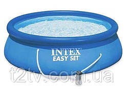 Бассейн надувной Intex 28118, 305х61 см, с фильтр-насосом