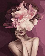 "Картина по номерам. Brushme ""Пурпурний цветок"" GX39230"