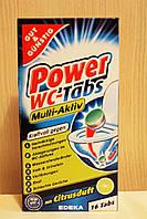 Таблетки для очистки унитаза G&G Power WC-Tabs Multi-Aktiv, 16шт.