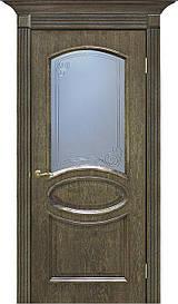 Двері Omis Лаура СС+КР натуральний шпон Дуб шервуд, 800