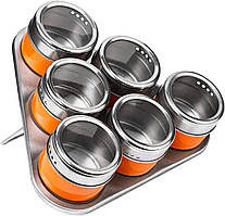 "Набір для спецій ""Magnetic Spice Pack"" 6 предметів (51870)"