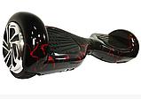 Гироборд Smart Balance 6,5 дюймов Красная молния самобаланс   гироскутер детский Смарт Баланс 6,5 LED фары, фото 2