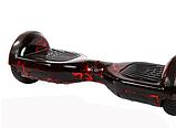 Гироборд Smart Balance 6,5 дюймов Красная молния самобаланс   гироскутер детский Смарт Баланс 6,5 LED фары, фото 5
