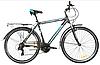 """Велосипед Crosser Gamma 28"""" рама 18.1"""" чорно-синій   Спортивний дорожній, міський велосипед Кроссер Гамма"""