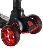 Самокат дитячий Scooter Cool Master x7 чорний від 3 років   чотириколісний самокат з світяться колесами, фото 5