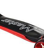 Самокат дитячий Scooter Cool Master x7 чорний від 3 років   чотириколісний самокат з світяться колесами, фото 8