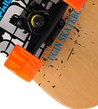 Скейт деревянный 823 наждак с PU колесами 60 мм Щит | скейтборд трюковой из канадского клена до 80 кг, фото 2
