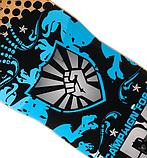 Скейт деревянный 823 наждак с PU колесами 60 мм Щит | скейтборд трюковой из канадского клена до 80 кг, фото 3
