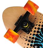 Скейт деревянный 823 наждак с PU колесами 60 мм Щит | скейтборд трюковой из канадского клена до 80 кг, фото 4