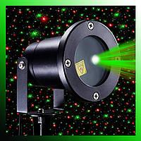 Лазерный новогодний проектор laser light Outdoor RD-8006 для дома и улицы
