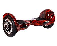 Гироборд Smart Balance 10 дюймів Полум'я самобаланс   гироскутер дитячий Смарт Баланс 10 до 120 кг