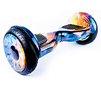 Гироборд Smart Balance 10,5 дюймів Космос синьо-жовтий самобаланс   гироскутер дитячий Смарт Баланс до 120 кг