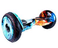 Гироборд Smart Balance 10,5 дюймів Вогонь і вода самобаланс   гироскутер дитячий Смарт Баланс 10,5 до 120 кг