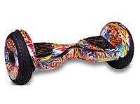 Гироборд Smart Balance 10,5 дюймів Помаранчевий самобаланс   гироскутер дитячий Смарт Баланс 10,5 до 120 кг