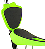 Беговел Scooter 18-1 от 1 года салатовый   трехколесный самокат с корзинкой, сидением и родительской ручкой, фото 4