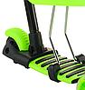 Беговел Scooter 18-1 от 1 года салатовый   трехколесный самокат с корзинкой, сидением и родительской ручкой, фото 5
