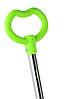 Беговел Scooter 18-1 от 1 года салатовый   трехколесный самокат с корзинкой, сидением и родительской ручкой, фото 8