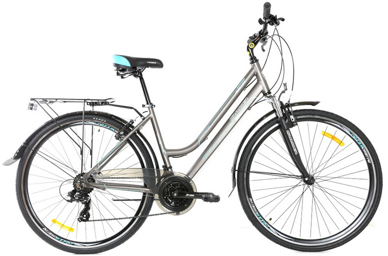 """Велосипед Crosser CITY 28"""" рама 18.1"""" сірий   Спортивний дорожній, міський велосипед Кроссер Сіті"""