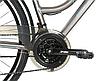 """Велосипед Crosser CITY 28"""" рама 18.1"""" сірий   Спортивний дорожній, міський велосипед Кроссер Сіті, фото 6"""