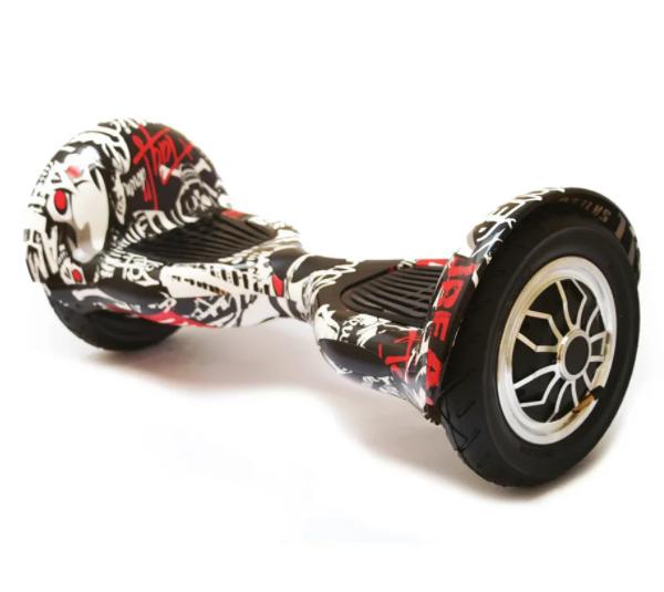 Гироборд Smart Balance 10 дюймів Графіті самобаланс   гироскутер дитячий Смарт Баланс 10 до 120 кг