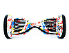 Гироборд Smart Balance 10,5 дюймов Хип хоп белый самобаланс   гироскутер детский Смарт Баланс 10,5 до 120 кг, фото 8