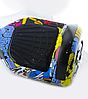 Гироборд Smart Balance 6,5 дюймов Граффити самобаланс | гироскутер детский Смарт Баланс 6,5 LED фары, фото 2