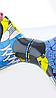 Гироборд Smart Balance 6,5 дюймов Граффити самобаланс | гироскутер детский Смарт Баланс 6,5 LED фары, фото 3