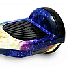 Гироборд Smart Balance 6,5 дюймов Космос сине-желтый самобаланс | гироскутер детский Смарт Баланс 6,5 LED фары, фото 2