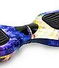 Гироборд Smart Balance 6,5 дюймов Космос сине-желтый самобаланс | гироскутер детский Смарт Баланс 6,5 LED фары, фото 5