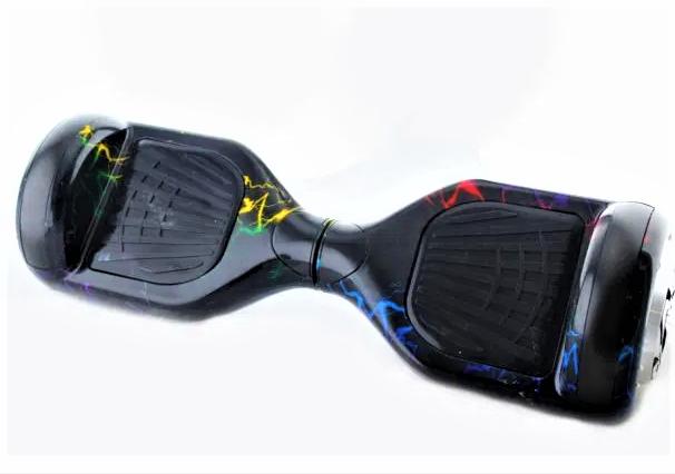 Гироборд Smart Balance 6,5 дюймів Блискавки самобаланс | гироскутер дитячий Смарт Баланс 6,5 LED фари