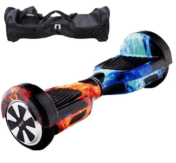 Гироборд Smart Balance 6,5 дюймов Огонь и Лед самобаланс | гироскутер детский Смарт Баланс 6,5 LED фары