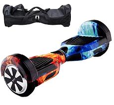 Гироборд Smart Balance 6,5 дюймів Вогонь і вода самобаланс   гироскутер дитячий Смарт Баланс 6,5 LED фари